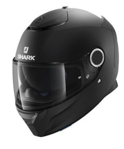 CASCO INTEGRAL SHARK SPARTAN MATT BLACK