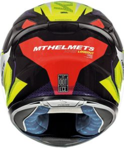 CASCO INTEGRAL MT KRE LOOKOUT G4 AMARILLO FLÚOR BRILLO