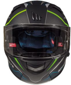 CASCO INTEGRAL MT KRE SV INTREPID C1 VERDE FLÚOR MATE