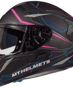 CASCO INTEGRAL MT KRE SV INTREPID C2 FLÚOR ROSA MATE