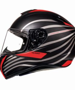CASCO INTEGRAL MT TARGO DOPPLER A0 ROJO FLÚOR MATE