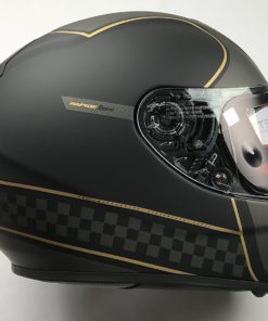 CASCO INTEGRAL MT RAPIDE REVIVAL A1 NEGRO MATE