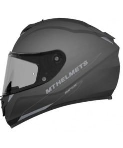 CASCO INTEGRAL MT RAPIDE SOLID A1 NEGRO MATE