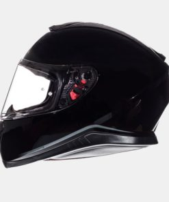 CASCO INTEGRAL MT THUNDER 3sv SOLID NEGRO BRILLO