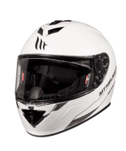 CASCO INTEGRAL MT RAPIDE SOLID A0 BLANCO PERLA BRILLO