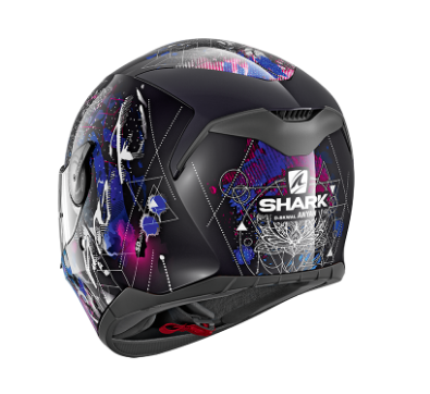 CASCO INTEGRAL SHARK D-SKWAL ANYAH