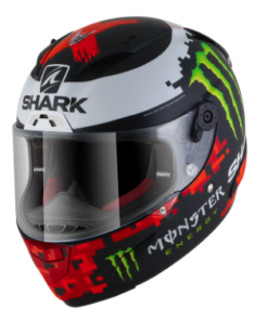CASCO RACE-R PRO RÉPLICA LORENZO MONSTER MAT 2018