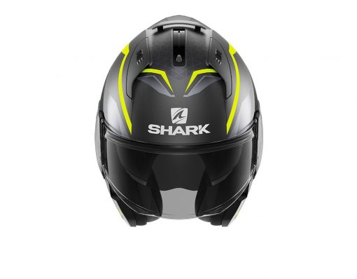SHARK EVO ES YARI MAT ANTHRACITE YELLOW