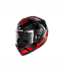 CASCO INTEGRAL SHARK RIDILL 1.2 MECCA black red