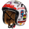CASCO MT JET LE MANS 2 SV ANARCHY A0 GLOSS PEARL WHITE