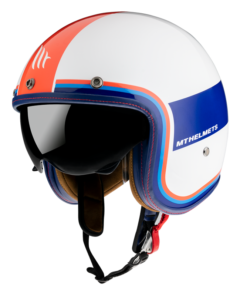 CASCO MT JET LE MANS 2 SV TANT D15 GLOSS PEARL RED